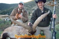 spain hunting ibex